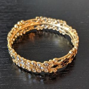 Jewelry - Gold plated Indian Bangle